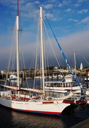 Schooner Bay Lady II, by David W. Dunlap (2010).