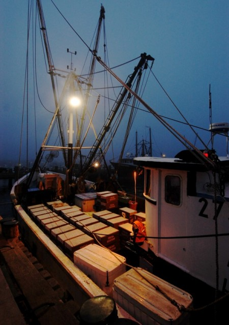 F/V Blue Skies, by David W. Dunlap (2011).