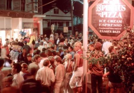 190 Commercial Street, Spiritus after hours, by David Jarrett (1981).