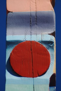 Joan Wye's signpost, by David W. Dunlap (2011).