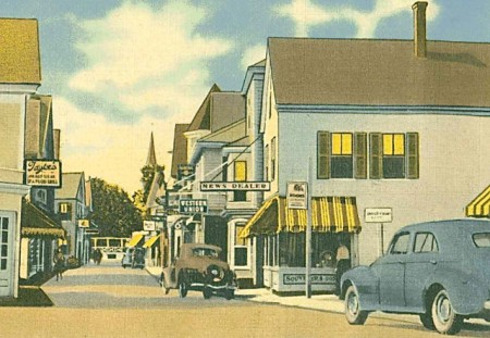 306 Commercial Street (ca 1938), from the Provincetown History Preservation Project.