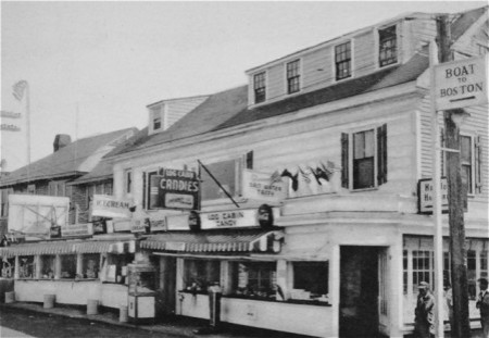 309 Commercial Street, from the Pilgrim Monument and Provincetown Museum.