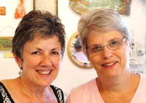 Kathryn Livelli and Wendy Hinden, by David W. Dunlap (2011).