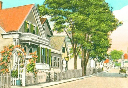 376 Commercial Street (1939), from the Provincetown History Preservation Project.