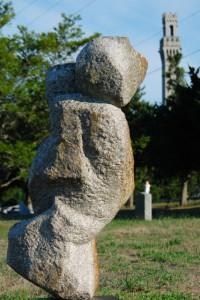 Dr. Clara Thompson grave site, by David W. Dunlap (2010).