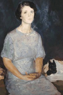 """Margaret Mayo Expecting Motherhood,"" by Henry Hensche."