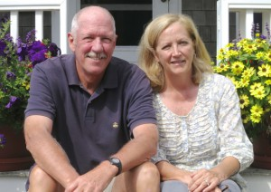 Buz and Carol Plesser, by David W. Dunlap (2012).