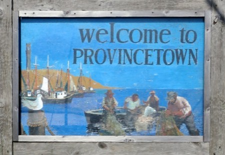 """Welcome to Provincetown,"" by David W. Dunlap (2013)."