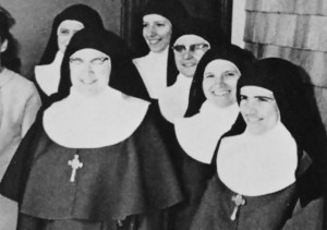 Mother Cecilia and nuns of the Order of the Love of God, from the Rev. Henry Dahl.