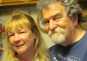 Deborah and Dennis Minsky, by Tony Hodgin.
