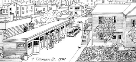 7 Freeman Street, by Jackson Lambert (1974).