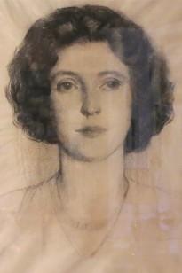 Henry Hensche's portrait of Ada Rayner.