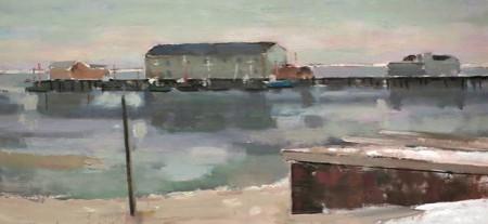 """Gray Day,"" by Bruce McKain, from Helen and Napi Van Derek."