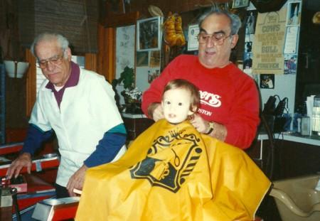 "Jesse ""Burr"" Ferreira, Gordon Ferreira and Leo J. Rose (in the chair), from Susan Leonard."
