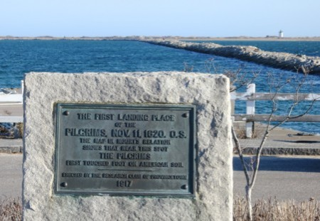 Pilgrims' First Landing Park, by David W. Dunlap (2014).